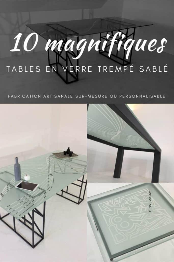 Fabricant de table artisanale sur-mesure