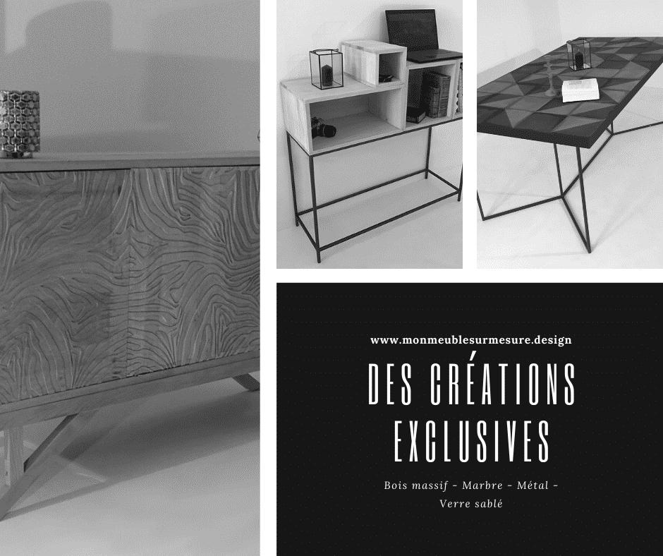 Fabricant de meuble design sur-mesure, créations exclusives