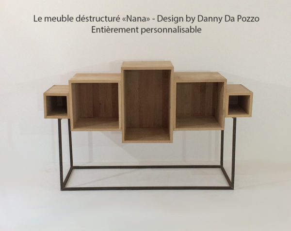 Le meuble design nana : en bois massif personnalisable