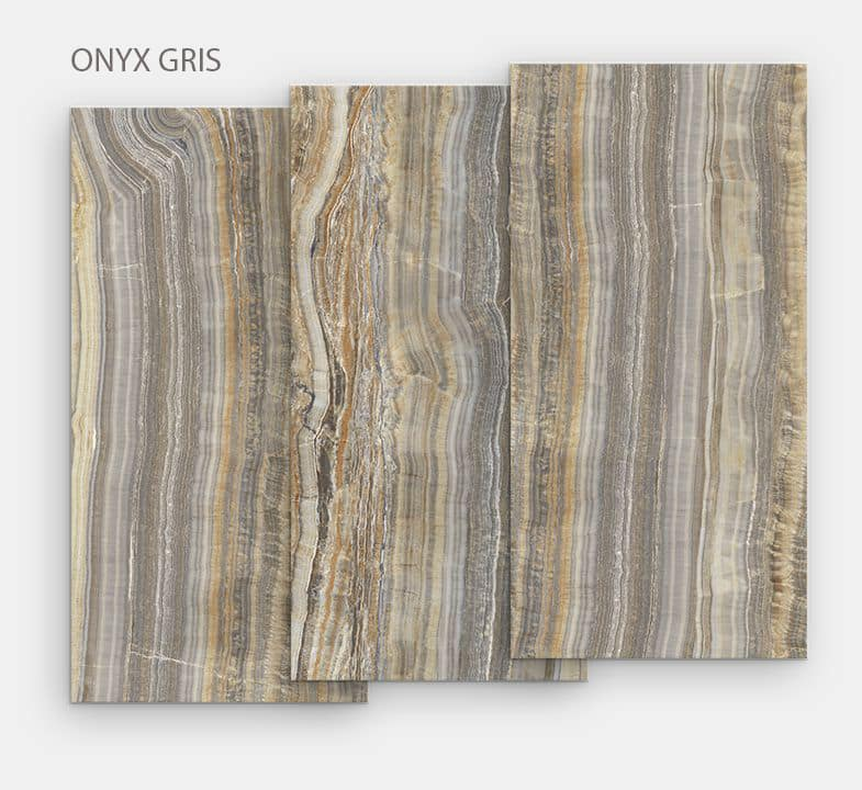 """plateau en céramique """"Onyx Gris"""""""