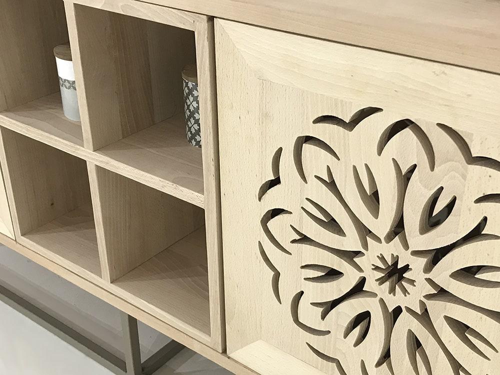 meuble bois massif personnalisable