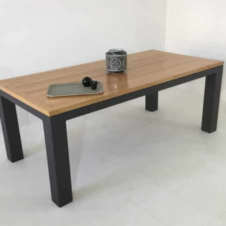 """Table bois massif """"Burton"""" réalisable sur-mesure"""
