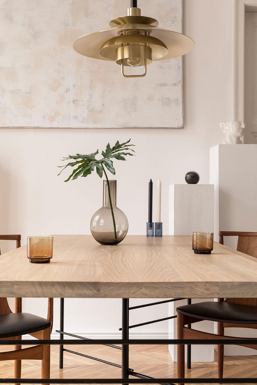 table à manger sur mesure plateau bois massif