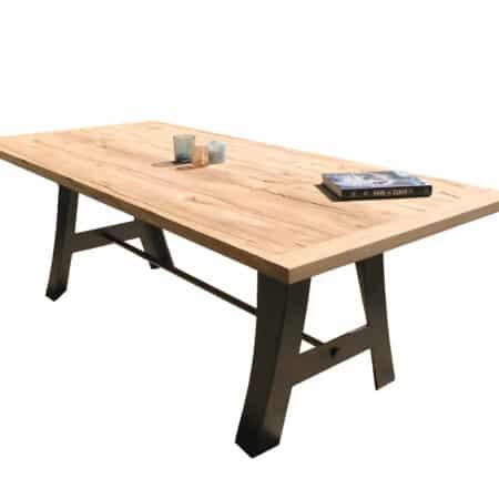 Table chêne massif sur mesure